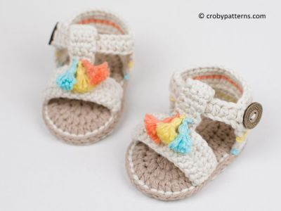 Boho Baby Sandals