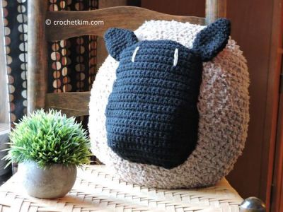 Love My Sheep Pillow