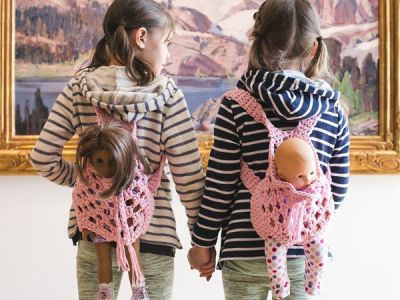 Doll Backpack Carrier