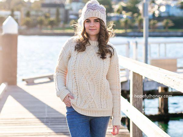 Meara Fisherman Sweater