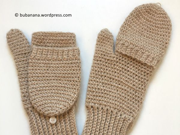 Convertible Crochet Mittens