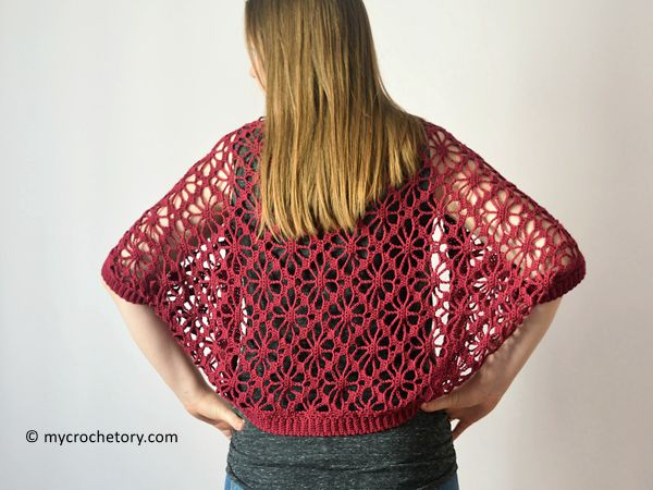 Meadow Lace Shrug