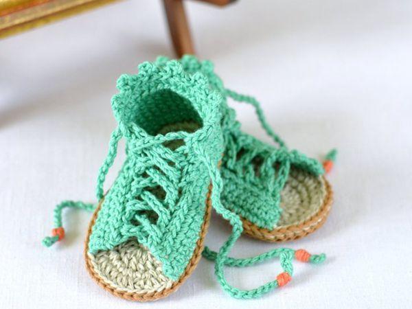 CROCHET PATTERN Baby Sandals
