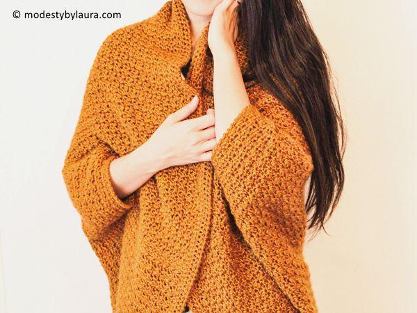 crochet Honey Cocoon free pattern