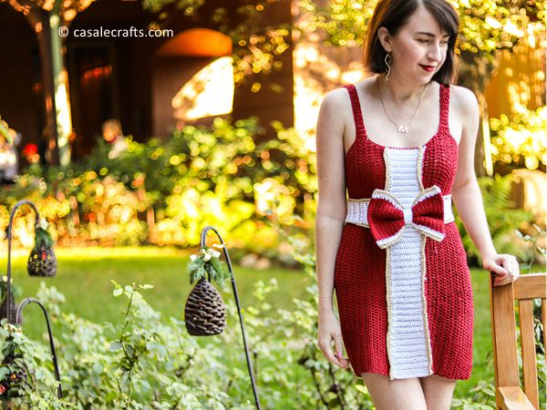 crochet The Wrap Me Up Dress free pattern