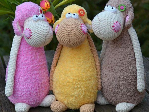 crochet Spring sheep pattern