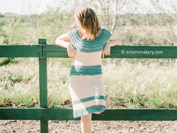 crochet Summer Breeze Dress free pattern
