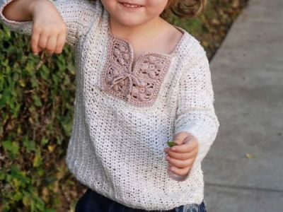 crochet Wild Child Crochet Jumper free patern