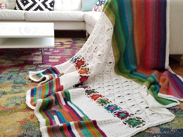 crochet 5th Dimension Blanket easy pattern