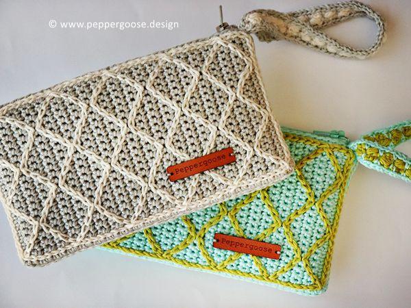 crochet Handy Clutch Purse free pattern