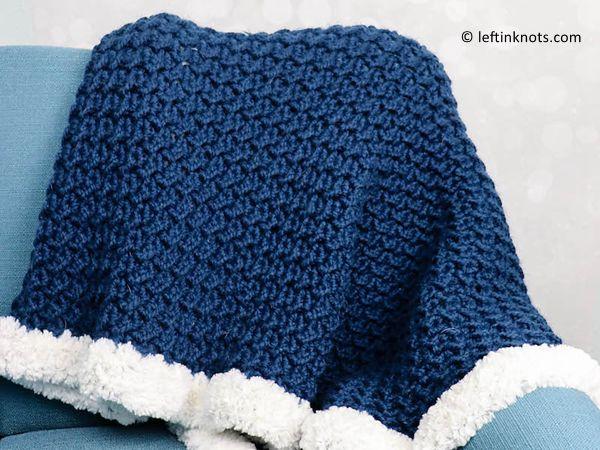 crochet Hearth Blanket free pattern
