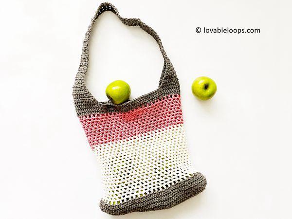 crochet Market Bag free pattern