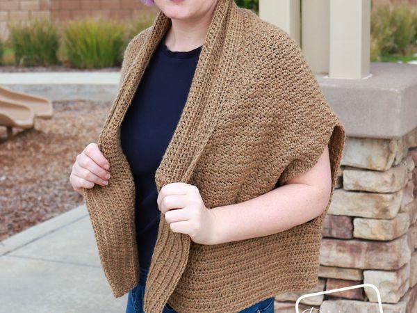 crochet Raquel Cardigan free pattern