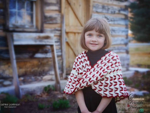 crochet Ribbon Candy Infinity Cowl easy pattern