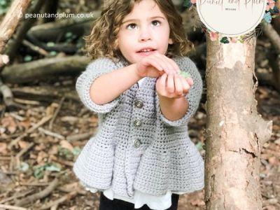 crochet Annabelle Smock Jacket free pattern