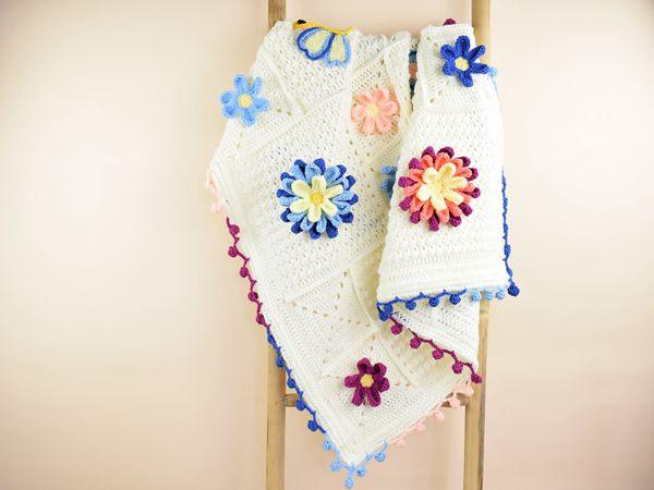 crochet Blooming Spring free pattern