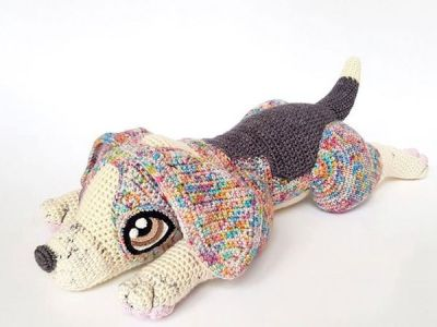 crochet Rocket the Beagle easy pattern