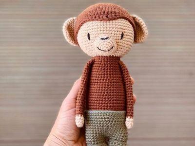 CROCHET Lui Monkey EASY PATTERN