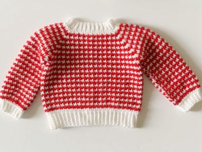 Even Moss Baby Sweater