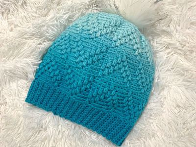 crochet Arrows Beanie free pattern