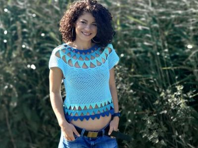 crochet Cleopatra Top free pattern