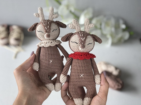 Crochet Deer Toy easy pattern