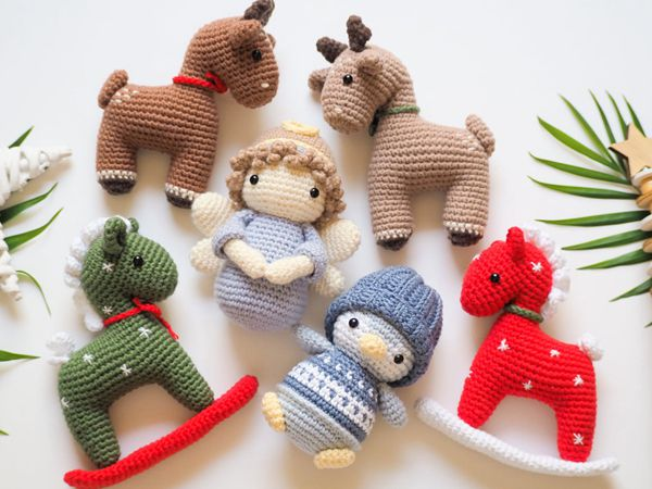 crochet Christmas Decoration easy pattern