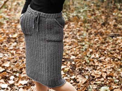 crochet Hobble Skirt free pattern