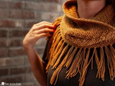 crochet Cluster Cowl free pattern