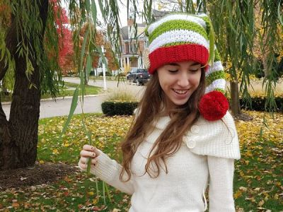 crochet Elf Hat free pattern