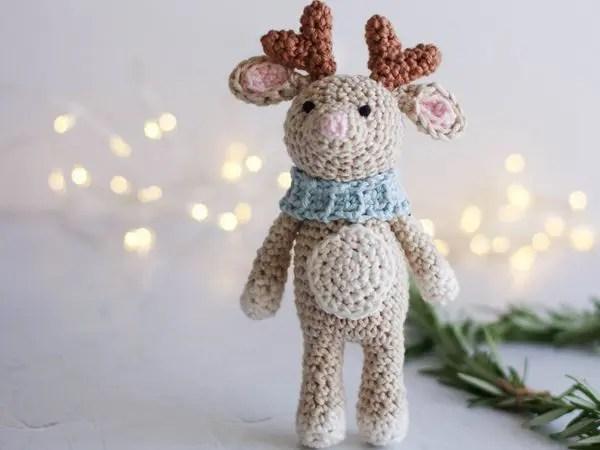 crochet Little Reindeer free pattern