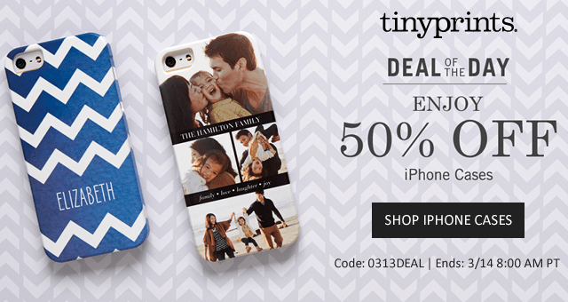 50% Off iPhone Cases