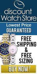 FREE Shipping with DiscountWatchStore.com