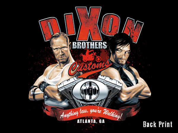 Awesome Dixon Brothers Tee