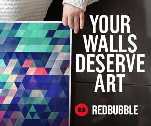 Your walls deserve art from Redbubble