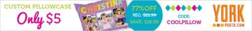 Custom Photo Pillowcase - Just $5 - Save $16.99!