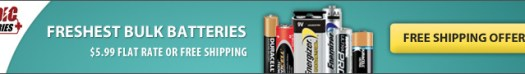 Medic Batteries - 30-50% OFF and Flat Rate Shipping