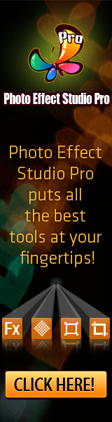 Photo Effect Studio Pro puts all the best tools at your fingertips!
