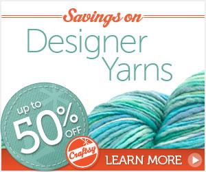 Daily Knitting Deals at Craftsy.com