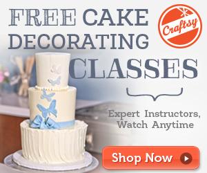 Online Cake Decorating Class