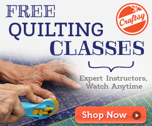 negative space online quilting class at craftsy.com