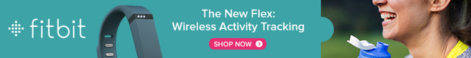 The New Flex: Wireless Activity Tracker