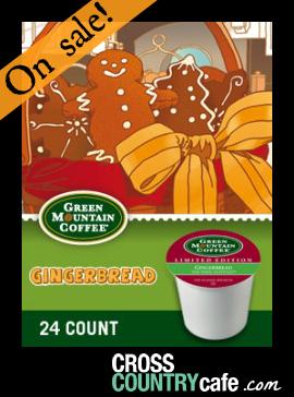 Gingerbread Keurig Kcup coffee