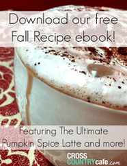 Free Fall Coffee Recipe Ebook