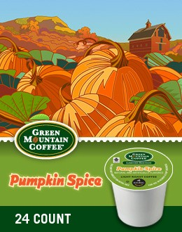 Green Mountain Pumpkin Spice Keurig Kcups