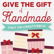 Give the Gift of Handmade on Creativebug!