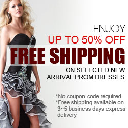 Up to 50%OFF,Free shipping For New Arrival Prom Dresses@Didobridal.