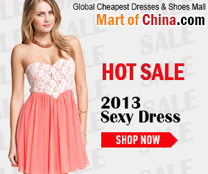 Hot Sale Sexy Dresses 2013 of Martofchina
