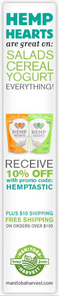 Hemp Hearts Taste Great! 10% off with promo code HEMPTASTIC www.manitobaharvest.com