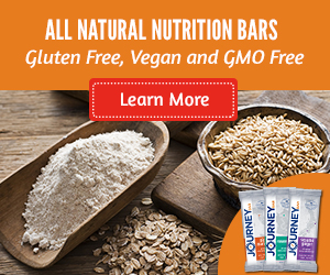 All Natural Nutrition Bars from Journey Bar